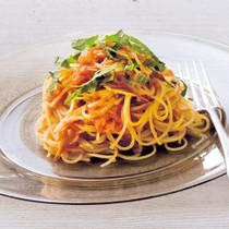 冷製トマトソースのカッペリーニ
