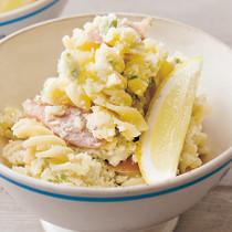 枝豆のレモン風味サラダパスタ