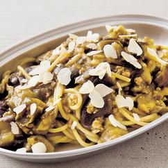 カレーボロネーゼスパゲッティ