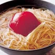 トマトしょうがにゅうめん