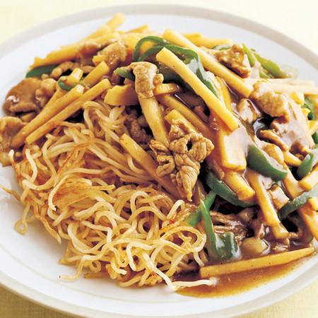 中華カレーあんかけ焼きそば
