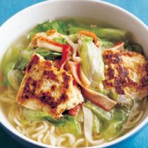 中華風焼き豆腐ラーメン