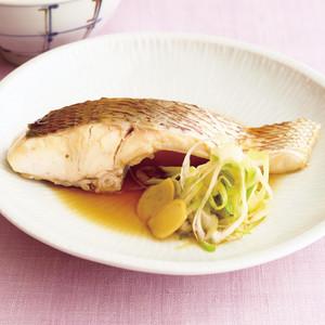 白身魚の煮つけ