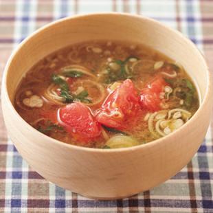 トマトのみそ汁