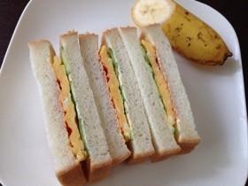 うちの喫茶店のサンドイッチ