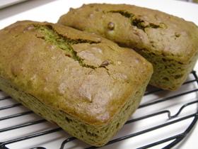 サラダ油で簡単☆抹茶小豆ケーキ♪