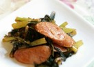 お弁当に✿ウインナーと小松菜のケチャ炒め
