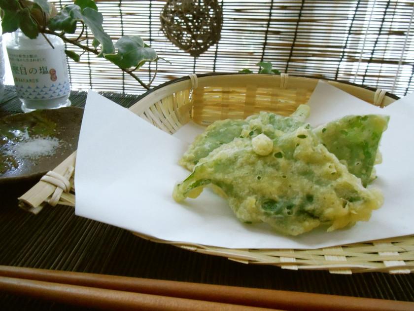 つるむらさきの天ぷら