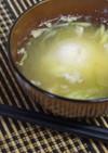 母の味☆落とし卵とみょうがのお味噌汁♬