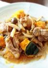 レンジで簡単♪野菜とチキンの蒸し煮