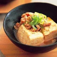 豚こま肉の肉豆腐