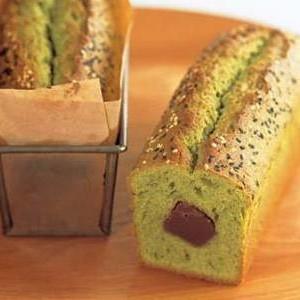 緑茶のパウンドケーキ