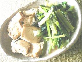 厚揚げと小松菜の田舎煮