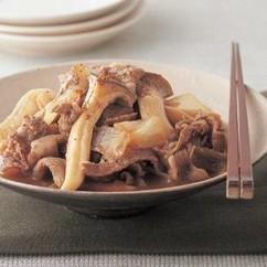 エリンギと牛肉の甘辛煮