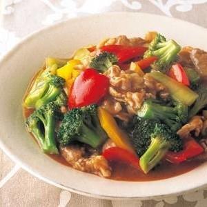 ブロッコリーの回鍋肉