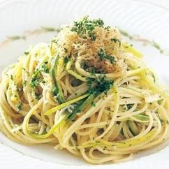 しらすとアスパラのスパゲッティ