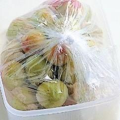 梅干し-簡単袋漬け-1塩漬け