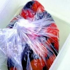 梅干し-簡単袋漬け-2赤じそ漬け