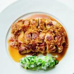 鶏もも肉のにんにく照り焼き