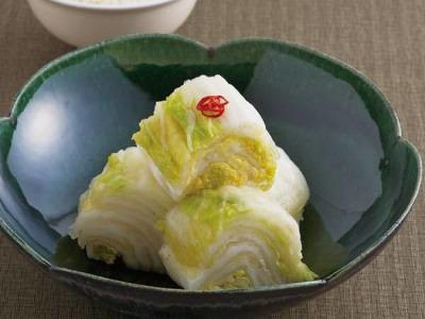 白菜の昆布漬け