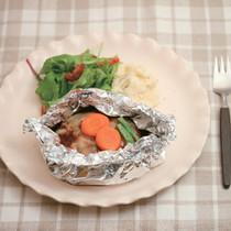 洋食屋さんの包み焼きハンバーグ
