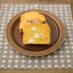 ふわふわパンプキンケーキ