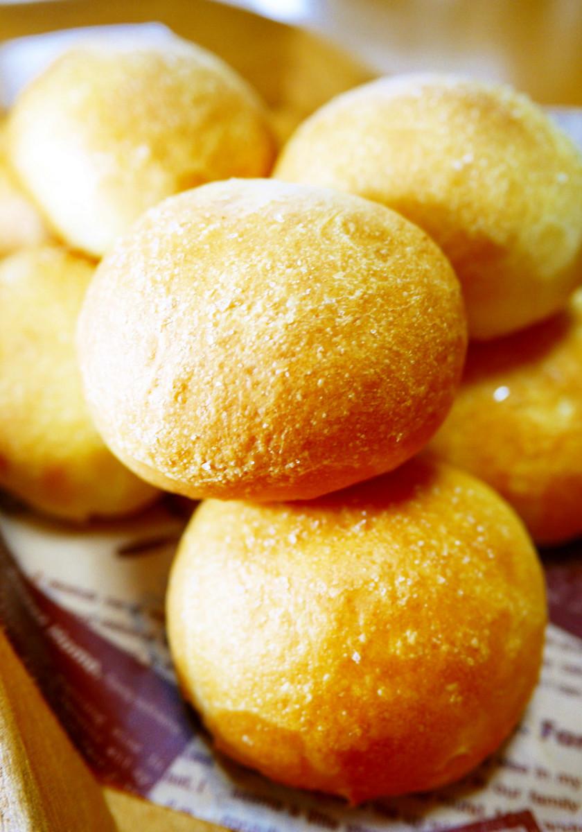 朝食&ランチ♪丸く作って簡単☆HB塩パン