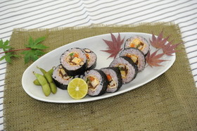 黒豆巻き寿司