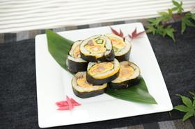 ぐるぐる卵巻き寿司