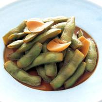 枝豆のにんにくしょうゆ漬け