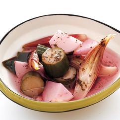 夏野菜のゆかりピクルス