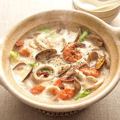 海鮮豆乳鍋