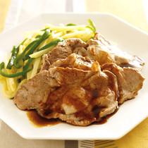 豚肉のオイスターバターソース