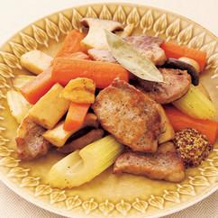 豚ロース肉のフライパンロースト