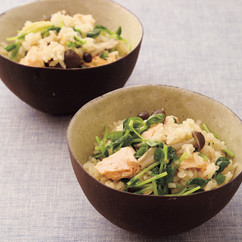 鮭の中華風炊き込みご飯