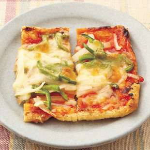油揚げのピザ風