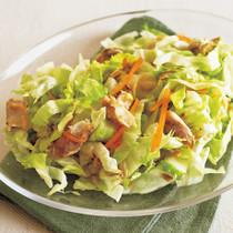 干ものとレタスのポン酢サラダ