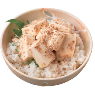 ごま豆腐丼
