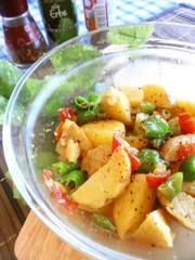 夏こそレンジ☀じゃが芋のレンジ炒め♪の写真