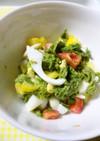 あおさの卵サラダ