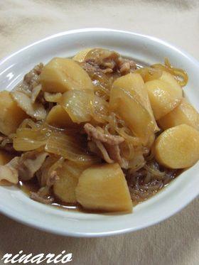 ✿長芋でほくほく肉じゃが✿