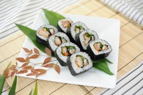 播州百日地どり塩麹から揚げ巻き寿司