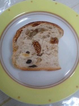 くるみとイチジクのパン