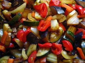 野菜の黒炒め