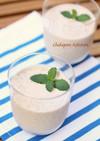 ドライフルーツのヨーグルト豆乳ドリンク