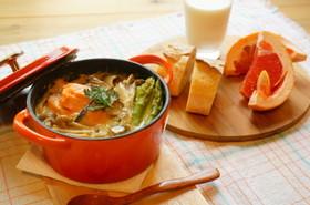 3STEP:オーブンまかせ!美容スープ。