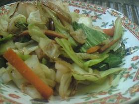 キャベツたくさん◇野菜炒め
