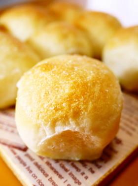 ちぎりパンになった塩パン(HB生地)