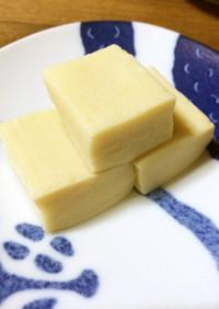 白だしで作る高野豆腐の含め煮