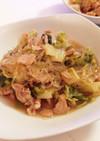 豚肉と白菜と春雨の旨煮